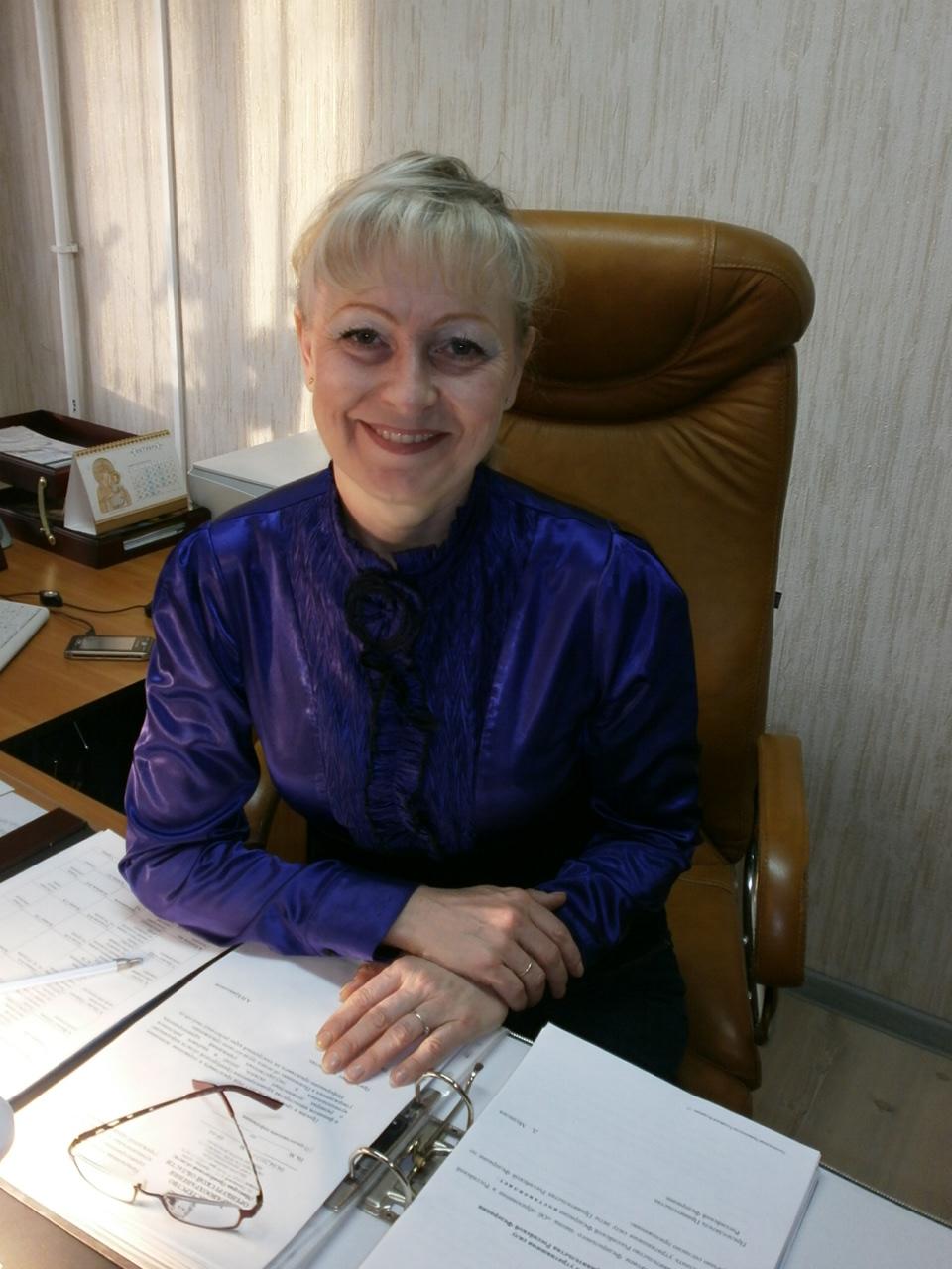 Директор Гайского медколледжа Трунилова Вера Викторовна